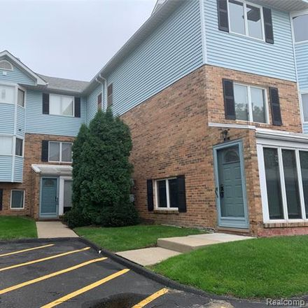 Rent this 2 bed condo on Pinewood Circle in Plymouth, MI 48170