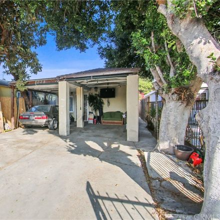 Rent this 2 bed house on 2025 E Shauer St in Compton, CA