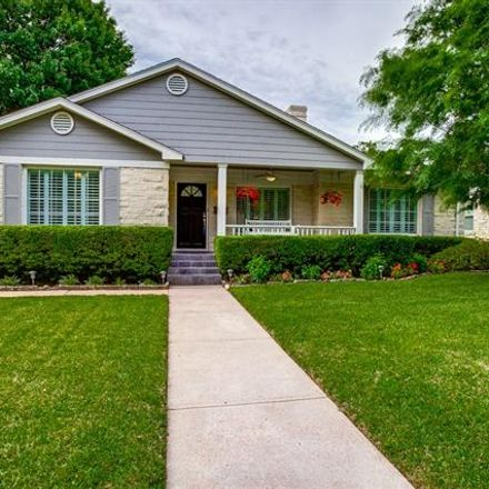 Rent this 2 bed house on 6144 Anita Street in Dallas, TX 75214