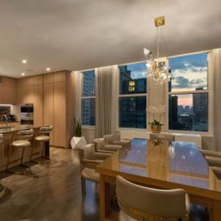 Rent this 4 bed apartment on #14EF in 49 Chambers Street, Lower Manhattan