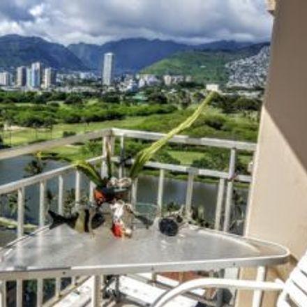 Rent this 1 bed loft on Waikiki Skyliner in 2415 Ala Wai Boulevard, Honolulu