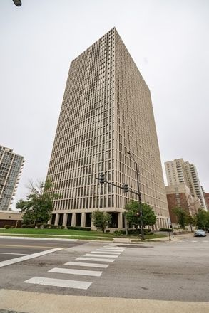Rent this 1 bed condo on Quadrangle House in 6700 South South Shore Drive, Chicago