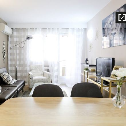 Rent this 1 bed apartment on Calle de López de Hoyos in 115, 28002 Madrid