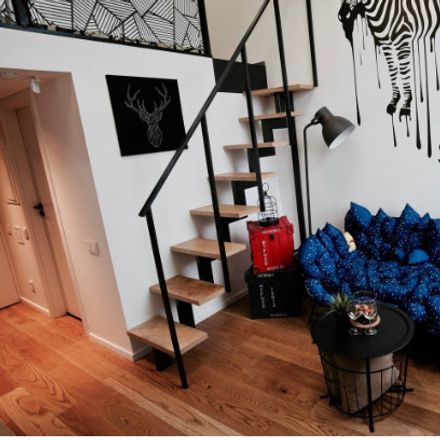 Rent this 1 bed apartment on Kauno g. in Vilnius, Lituania