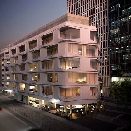 Rent this 1 bed apartment on MyZeil Parkhaus in Thurn-und-Taxis-Platz, 60313 Frankfurt