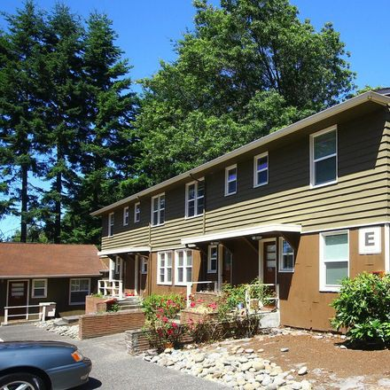 Rent this 2 bed apartment on 1801 North 155th Street in Shoreline, WA 98133