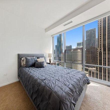 Rent this 2 bed condo on Michigan Ave in Optima Signature, East Grand Avenue