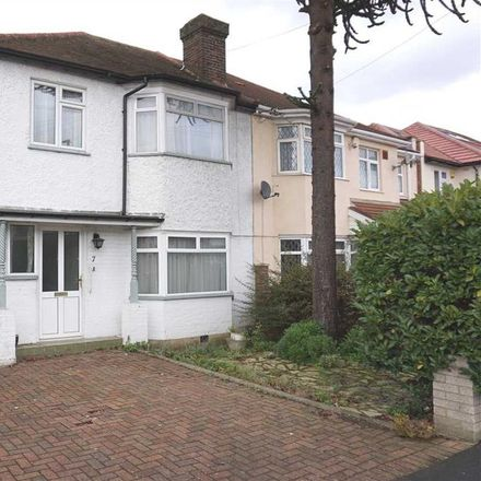 Rent this 3 bed house on Lulworth Avenue in London TW5 0TY, United Kingdom