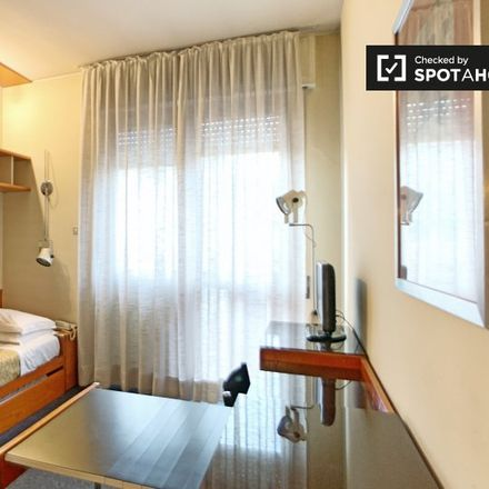 Rent this 0 bed apartment on Via Fortezza in 20128 Milan Milan, Italy