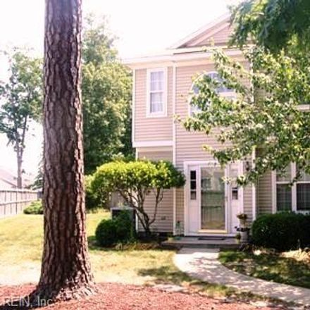 Rent this 2 bed townhouse on 701 Windbrook Circle in Newport News City, VA 23602