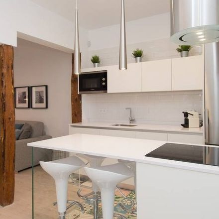 Rent this 1 bed apartment on Calle del Ave María in 21, 28012 Madrid