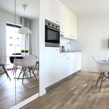 Rent this 1 bed apartment on Aleja Kijowska 40 in 30-079 Krakow, Poland