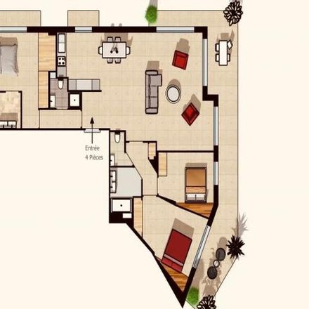 Rent this 3 bed apartment on 4 Rue Cardinal Dupont in 06230 Villefranche-sur-Mer, France