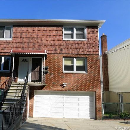 Rent this 3 bed townhouse on 156 Truman Avenue in Yonkers, NY 10703