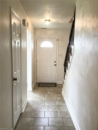 Rent this 3 bed townhouse on 3231 Clover Road East in Chesapeake, VA 23321