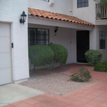 Rent this 2 bed townhouse on East Lincoln Drive in Scottsdale, AZ 85250