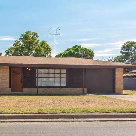 Rent this 4 bed apartment on 2413 West Cuthbert Avenue in Midland, TX 79701
