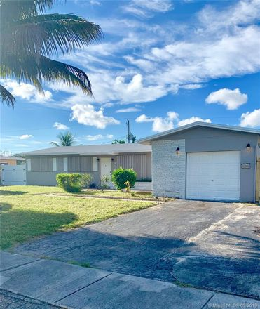 Rent this 3 bed house on 4864 Northwest 5th Court in Plantation, FL 33317