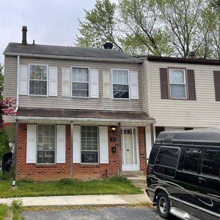 Rent this 7 bed townhouse on 50 Gilbert Ct in Newark, DE