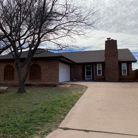Rent this 3 bed house on Scotland Ct in Abilene, TX
