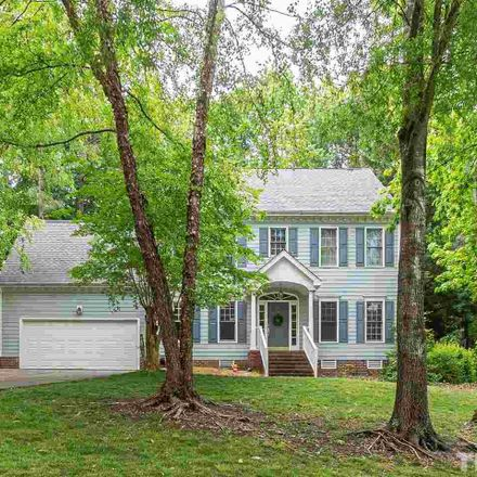 Rent this 3 bed house on 409 Widdington Lane in Cary, NC 27519
