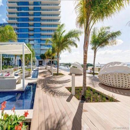 Rent this 1 bed condo on Waiea Condominium at Ward Village in 1118 Ala Moana Boulevard, Honolulu