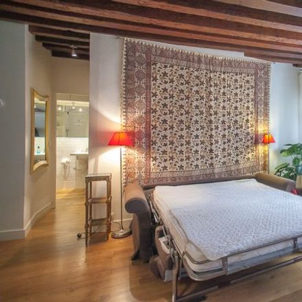 Rent this 1 bed apartment on 75 Rue Quincampoix in 75003 Paris, France