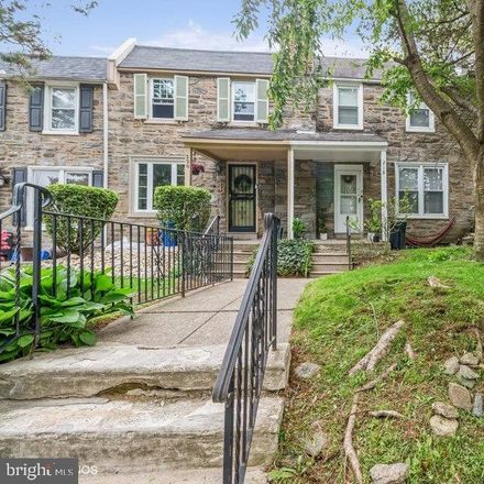 Rent this 3 bed townhouse on E Durard St in Philadelphia, PA