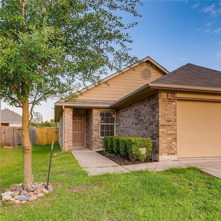 Rent this 3 bed house on 6824 Ferrystone Pass in Del Valle, TX