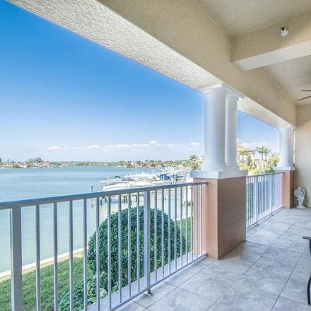 Rent this 3 bed condo on Gulf Boulevard in Redington Shores, FL 33776