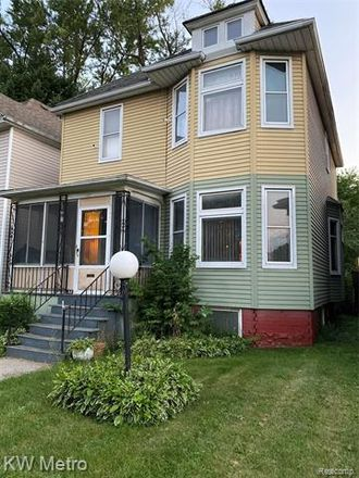 Rent this 4 bed house on 2553 Seyburn Street in Detroit, MI 48214