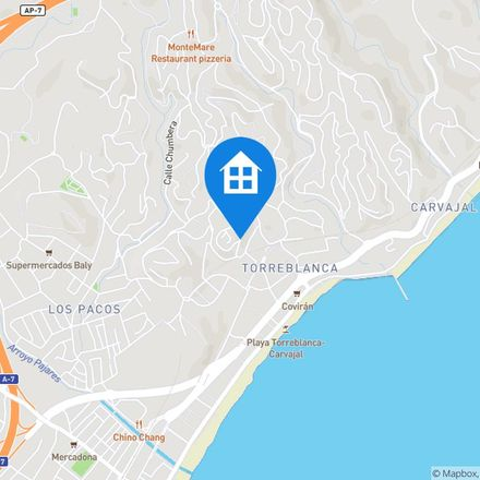 Rent this 1 bed apartment on unnamed road in 29640 Fuengirola, Spain