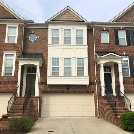 Rent this 3 bed townhouse on 8705 Macedonia Lake Drive in Cary, NC 27518