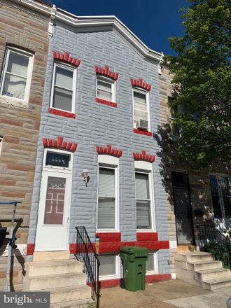 Rent this 3 bed townhouse on 608 Appleton Street in Baltimore, MD 21217