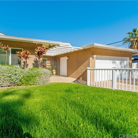 Rent this 4 bed house on 16201 Dickens Street in Los Angeles, CA 91436