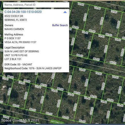 Rent this 0 bed house on Cecelia Dr in Sebring, FL