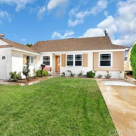 Rent this 3 bed house on 7780 Glassport Avenue in Los Angeles, CA 91304