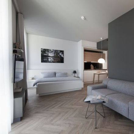 Rent this 1 bed apartment on SMARTments business in Walter-Gropius-Straße 11, 80807 Munich