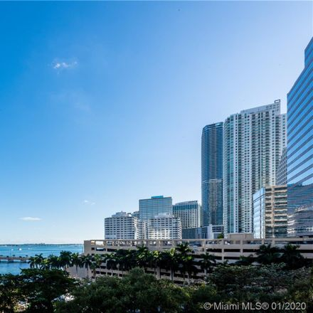 Rent this 2 bed apartment on 495 Brickell Avenue in Miami, FL 33131