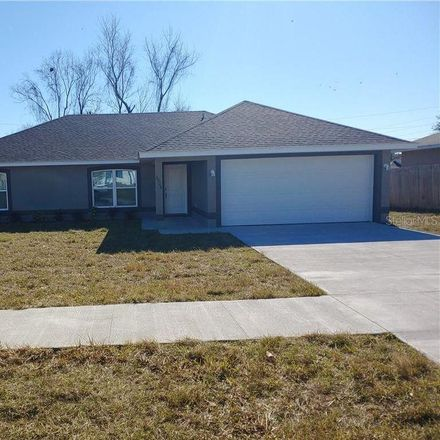Rent this 3 bed house on 2928 Devonshire St in Deltona, FL 32738