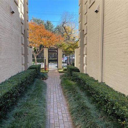 Rent this 2 bed condo on 4229 Cole Avenue in Dallas, TX 75205