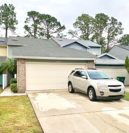Rent this 2 bed townhouse on 4417 Millstone Court in Jacksonville, FL 32257