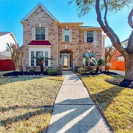 Rent this 4 bed house on 5714 Ballina Canyon Ln in Houston, TX