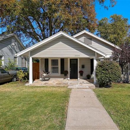 Rent this 2 bed house on 3320 West 5th Street in Fort Worth, TX 76107