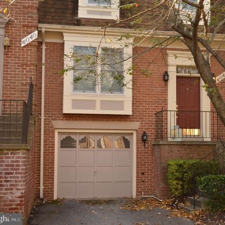 Rent this 3 bed townhouse on 6042 Loganwood Dr in Rockville, MD