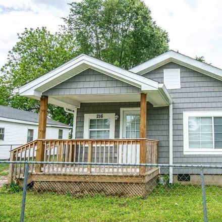 Rent this 2 bed house on 216 Daugherty Street in Jackson, TN 38301