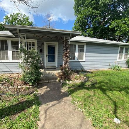 Rent this 3 bed house on 1204 East 31st Street in Austin, TX 78722