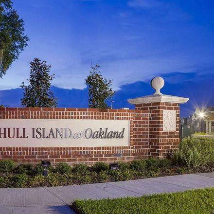 Rent this 4 bed apartment on Hull Island Drive in Oakland, FL 34760