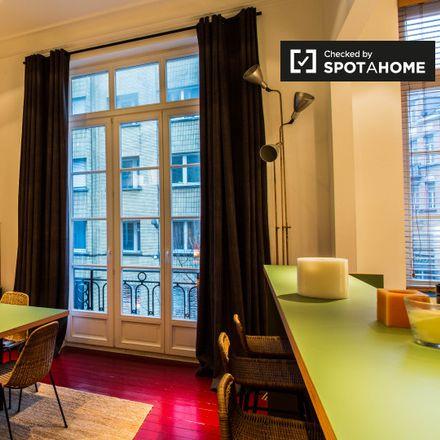 Rent this 1 bed apartment on Rue Franz Merjay - Franz Merjaystraat 141 in 1050 Ixelles - Elsene, Belgium