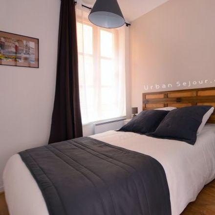 Rent this 1 bed apartment on Lyon in Saint-Georges, AUVERGNE-RHÔNE-ALPES